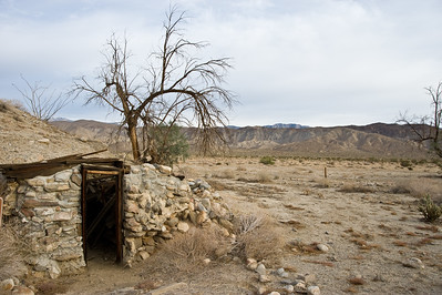 Pegleg Smith's root cellar.  Vern Whitaker horse camp, Anza-Borrego SP.