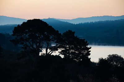 Dawn, Crystal Springs Reservoir