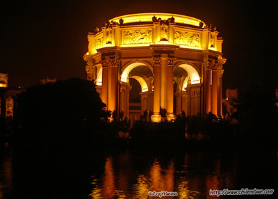 San Francisco, Palace of fine arts.