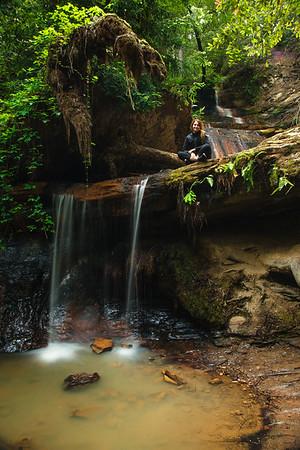 Lower Golden Cascade Falls