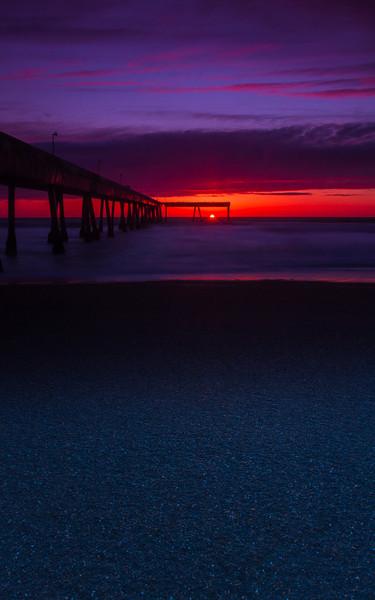 That Last Moment Pacifica Pier