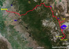 Approx. 260 miles one way <br /> Trip to Devil's postpile with stops in Bodie,tahoe and Mono lake