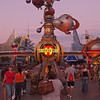 Entrance to Tomorrowland at Disneyland - 25 Aug 2011