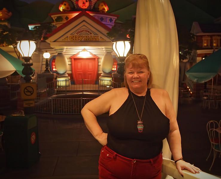 Nancy in Toontown at Disneyland - 27 Sept 2011