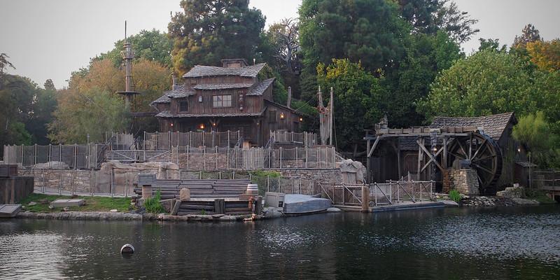 Tom Sawyer's Island at Disneyland - 27 Sept 2011