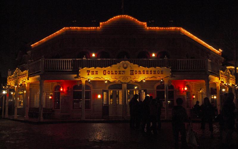 The Golden Horseshoe at Disneyland - 18 Feb 2010