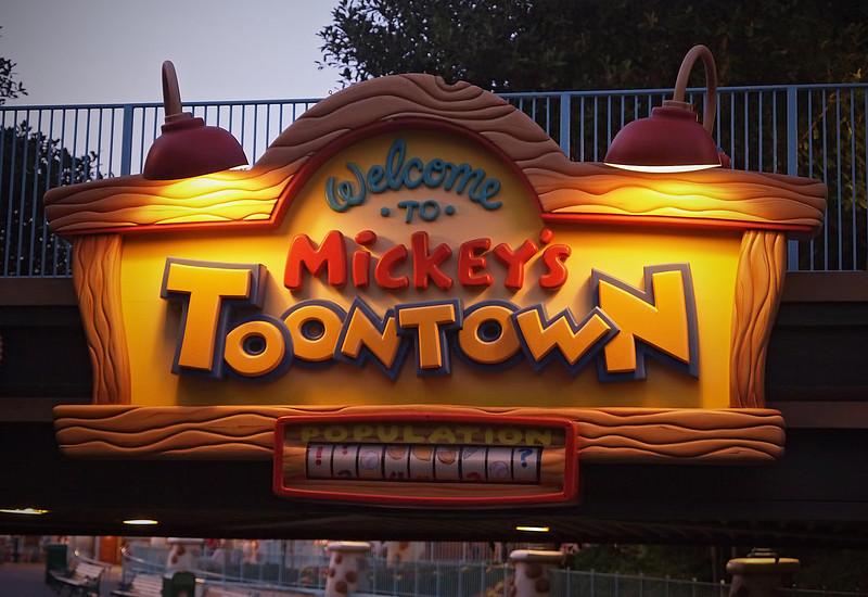 Toontown at Disneyland - 27 Sept 2011