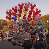 Mickey Mouse Balloons at Disneyland - 27 Sept 2011
