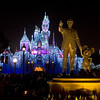 Walt and Mickey at Disneyland - 9 Dec 2010