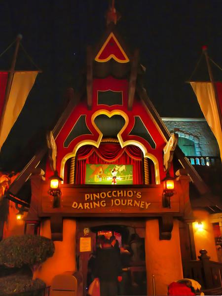 Pinocchio's Daring Journey at Disneyland - DTF - 9 Dec 2010