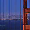 Golden Gate Bridge - North Tower at Dusk
