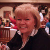 Nancy having Thanksgiving Meal at Knott's Berry Farm - 25 Nov 2010