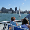 San Francisco from the Larkspur Ferry
