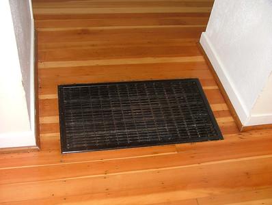 main entry way heat vent