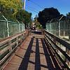 Footbridge over Corte Madera Creek