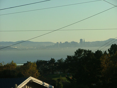 The Bay Bridge and SF