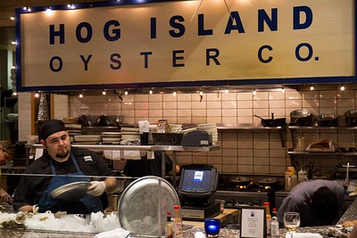 Hog Island Oyster Co, Oxbow Market