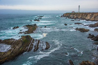 Point Arena light house.  California.