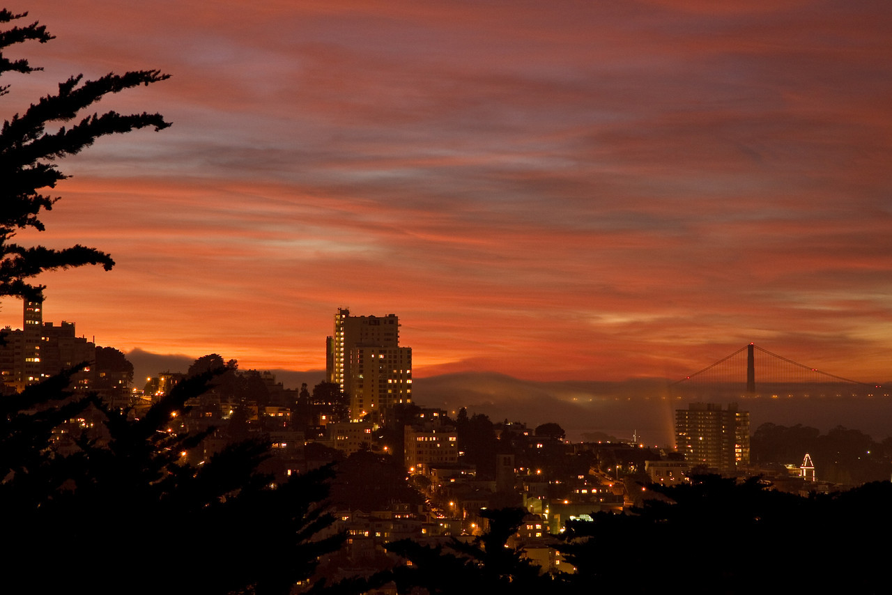 Sunset from Coit Tower