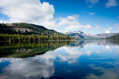 Donner lake.  Truckee, California.