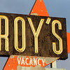 Roys Motel Cafe in Amboy on Route 66 - 13 Mar 2014