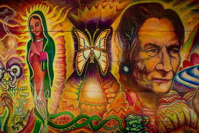 Murals in the SF Mission District