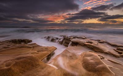 La Jolla Sea Sunset