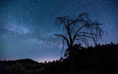 Mount Laguna Faint Milky Way