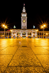 Ferry Building San Francisco I have a school project rebuilding the Ferry Building website. So that means I will be around the Ferry Building a lot more studying it and taking pictures. I like image rich websites so I need a lot of pictures. Best of both worlds on this project!   Canon 5D MK III Canon 17-40mm f/4 L Induro CT214 Tripod ISO 50 f/18 3 Shot HDR More - http://smu.gs/QbBtEh