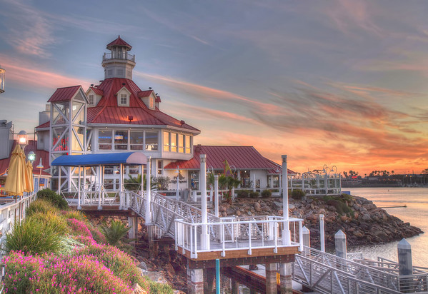 Parker's Lighthouse - HDR - 30 Jan 2010