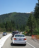 Welcome to Interstate 80. Your tax dollars at work, I guess. Near Donner Pass, CA, July 7, 2011.