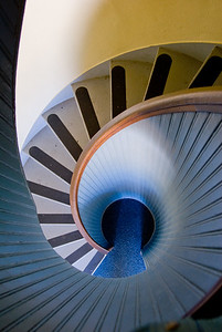 point loma light house stair way