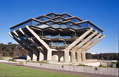 Library at UCSD.  La Jolla, California.