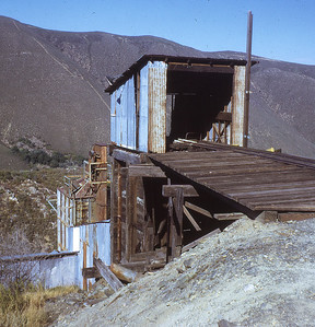Loading shut at Wonder Kane mine.  Banner grade, Julian, California.  1971