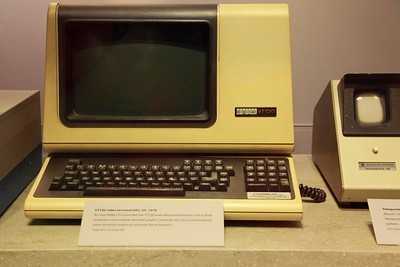 VT100 - the primal, exemplary dumb terminal.