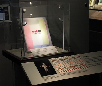 I found it hilarious that the last exhibit in the museum combined Web 2.0, the Dancing Baby and Hamsterdance.  All this evolution for this?