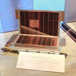 High-density core memory - 32KW.