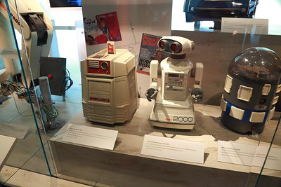 More robots.  I always coveted the Heathkit robot and the OmniBot, but they were too expensive.  I didn't realize how large the Heathkit one was.