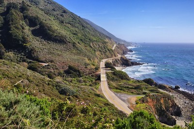 Highway 1 in Big Sur