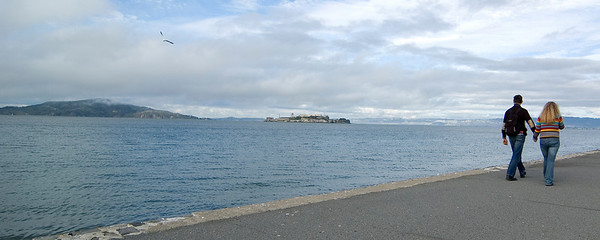 Alcatraz from the Marina Walk