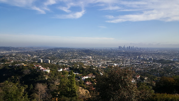 Another shot of downtown LA