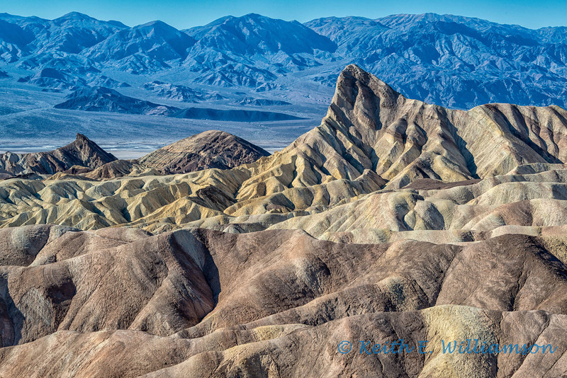 Zabriskie Point and Manley beacon, Death Valley NP