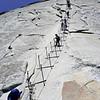 Half Dome Final Climb