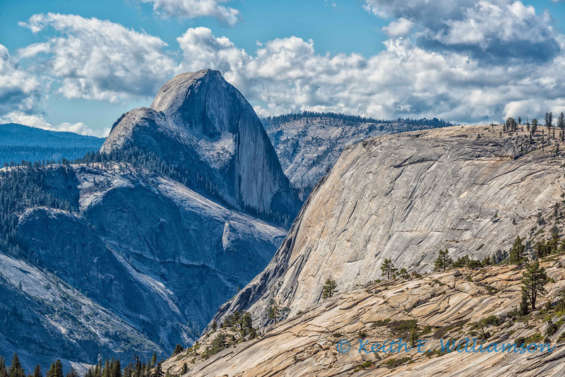 Half Dome, from Olmsted Point, Yosemite NP