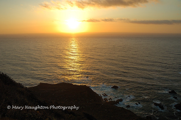 Hurricane Point Sunset, Big Sur, CA