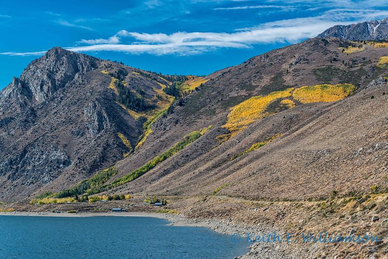 Fall in Owen's Valley, eastern Sierra's