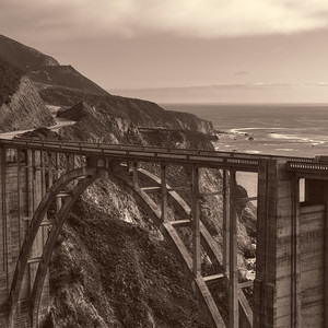 Bixby Bridge Circa 1932