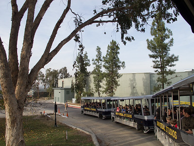 The Universal Studios tram is really quite a good ride
