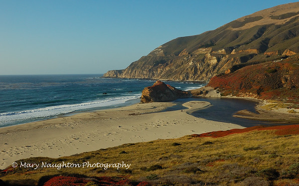 Big Sur CA beach