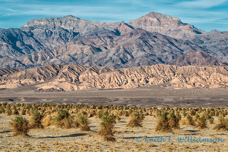 Amargosa Range, from Death Valley
